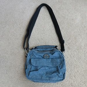 Vintage Kipling Adjustable backpack bag purse